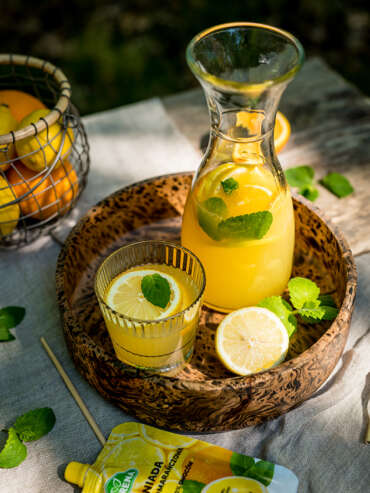 Lemoniada cytrynowo-pomarańczowa Purena