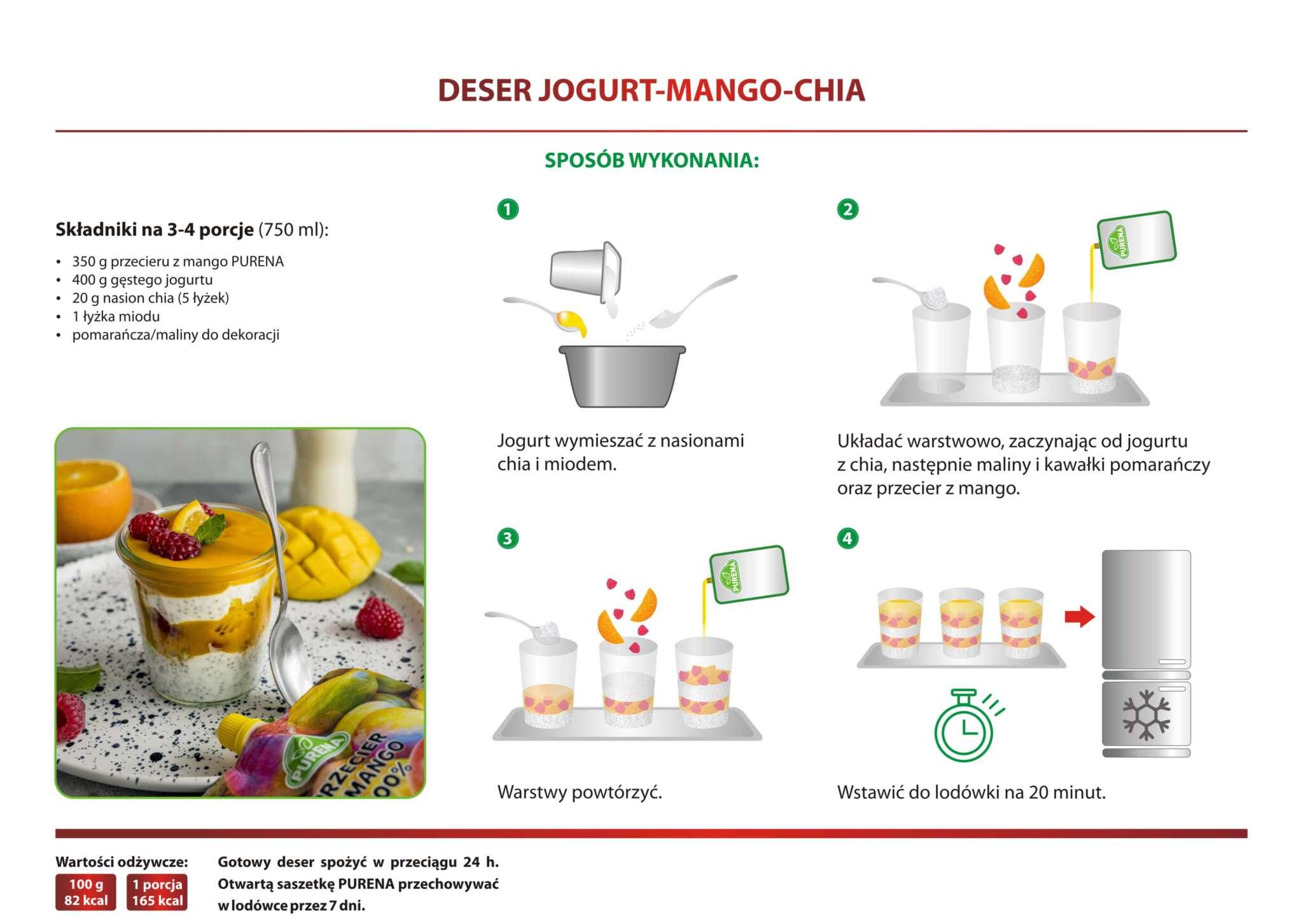 deser_jogurt mango chia