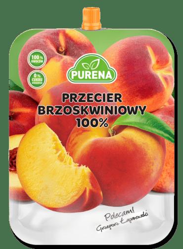 Przecier brzoskwiniowy 100%