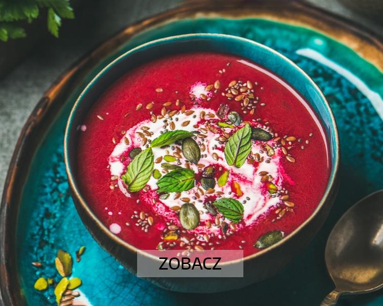 Zupa krem z buraczków od Pureny
