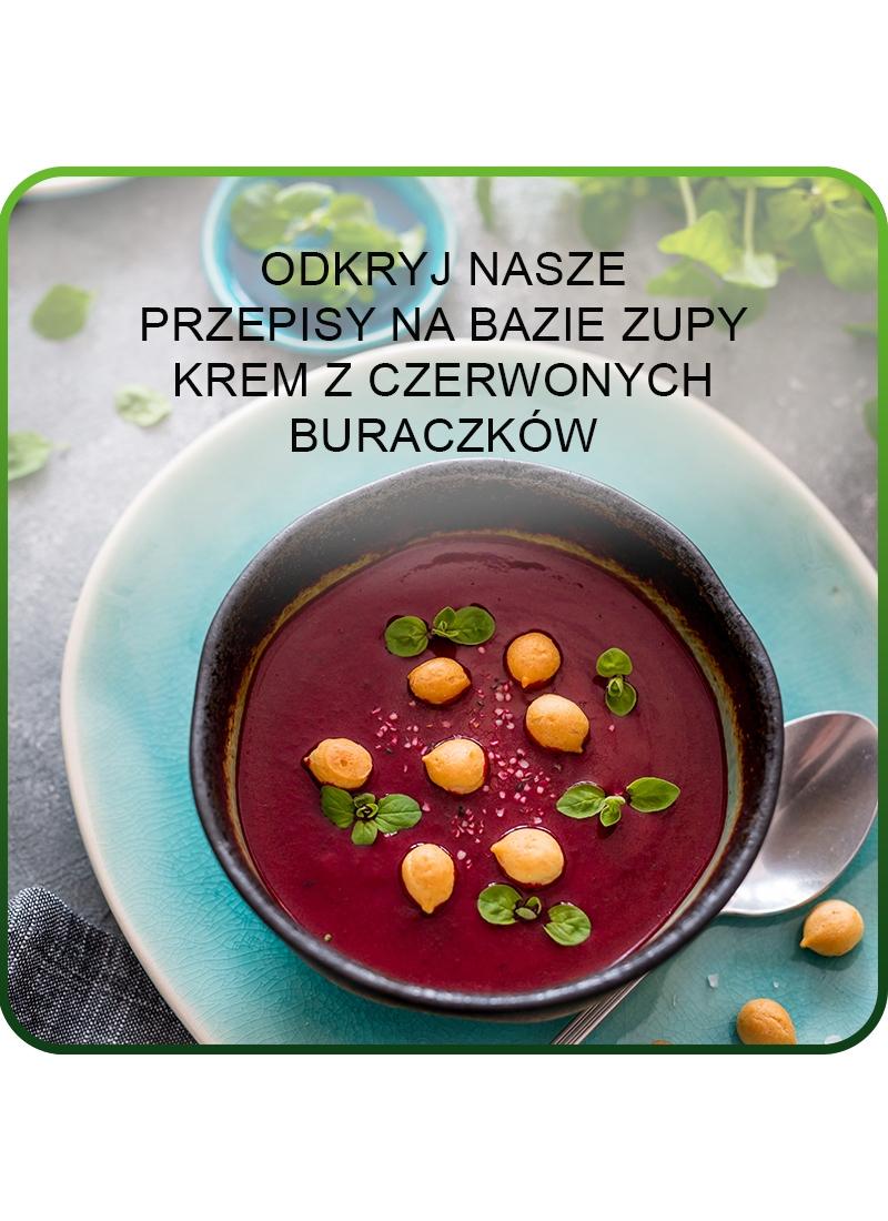 zupa krem z czerwonych buraczków